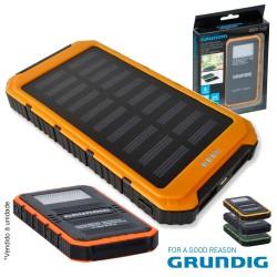 Bateria Power Bank 2 Usb 8000ma C/ Painel Solar - Grundig