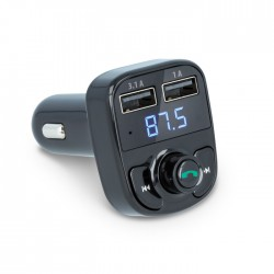 Transmissor Fm - Bluetooth V4.2 2usb / Micro Usb P/ Ligar Isqueiro - Forever