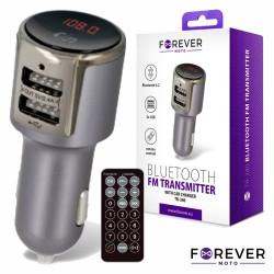 Transmissor Fm - Bluetooth V4.2 2USB P/ Ligar Isqueiro - Forever