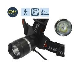 Lanterna P/ Cabeça 3W - EDM