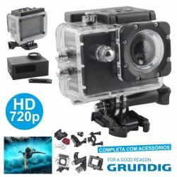 Camara Ação HD 720p C/ Gravação Video - Grundig