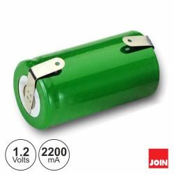 Bateria 1.2v-2200ma Ni-Mh SC C/ Patilhas - Join