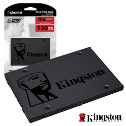 "Disco Ssd 120gb Kingston A400 Sata3 2.5"" - Kingston"