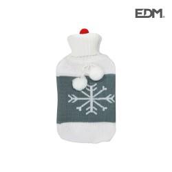 Botija Água Quente 2L Floco de Neve - EDM