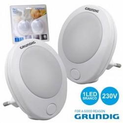 Luz De Presença 1 LED Branco 0.6W 230V - Grundig