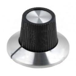 Botão de precisão para potenciómetro com calibração 0-9 Ø15x18.1mm