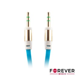 Cabo Jack 3.5 M/M 3.5 Stereo 1mt Azul - Forever