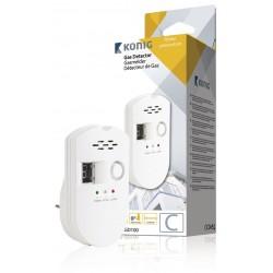 Detector Gas Autonomo 220v Com Alarme 85dB - Konig