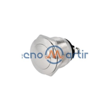 Interruptor Pressão Redondo Anti-Vandalismo 2a SPST 250v