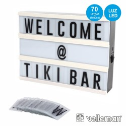 Caixa De Luz 20x15x4cm - Carregador USB - Velleman