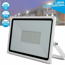 Projetor LED 50W 230V 6000k 4000lm Branco