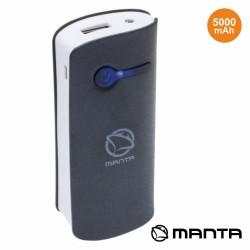 Powerbank 5000ma Preto - MANTA