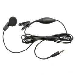 Auricular Earbud P/ Intercomunicador C/ Mic 2.5mm - Cobra