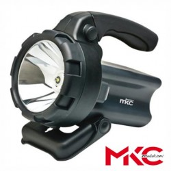 Lanterna LED 1 LED 1W Recarregável AC/DC - MKC