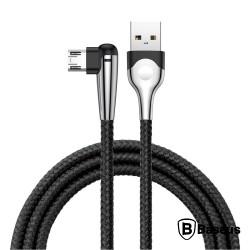 Cabo USB-A 2a Macho / Micro USB-B Macho 1M Branco - Baseus