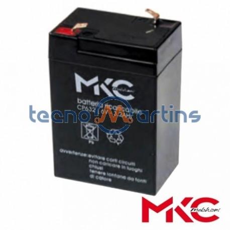 Bateria Chumbo 6V 3.2A - MKC