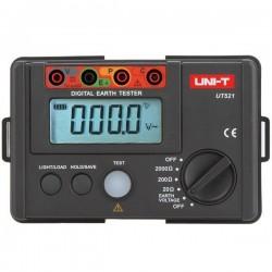Medidor de Terra Digital UT521 - Uni-T
