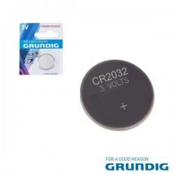 Pilha Lithium Botão Cr2032 3V 200Ma 5X Blister Grundig