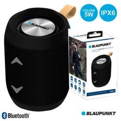 Coluna Bluetooth Portátil Bat Mic Fita Ipx6 Preto - BLAUPUNKT