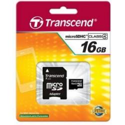 Cartão SD de 16 GB Class 4 - Transcend