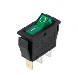 Interruptor Basculante 15A-250v Spst ON-OFF C/ Luz Verde