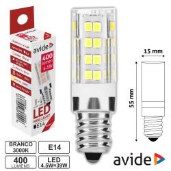 Lâmpada LED E14 Jd 4.5W 230V 3000k 400lm - Avide