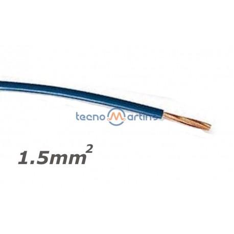 Fio Eléctrico Multifilar V 1,5mm² (Bobine 100mt) - Azul