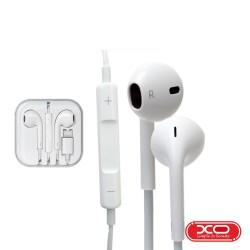 Auscultadores C/ Fios Stereo 92dB Branco - XO