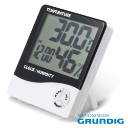Termómetro E Higrómetro Digital - GRUNDIG