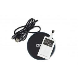 Carregador Por Indução S/ Fios 5v 1A C/ Luz P/ IPHONE - DCU