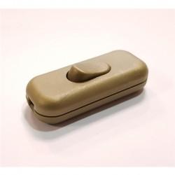 Interruptor Ac - Tipo Pera 2a Dourado