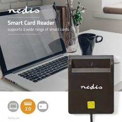 Leitor Cartão Cidadão Usb 2.0 Inteligentes / Smartcards - Nedis