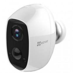 Câmara Vigilância IP 1080p S/ Fios C/ Bateria + Detector PIR IP65 - Ezviz