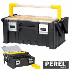 Caixa Ferramentas Plástico C/ Compartimentos - Perel