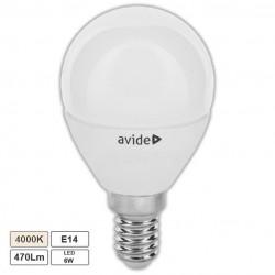 Lampada LED E14 Globo G45 6W 4000k 470lm - Avide