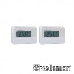 Pack 2 Termometros Digitais (-30ºC .. 50ºC) - Velleman