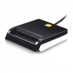 Leitor Cartao Cidadão / Identificação Usb2.0 SmartCard - Preto