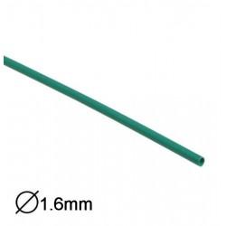 Manga Termoretractil 1m 2:1 Ø1.6-0.8mm Verde