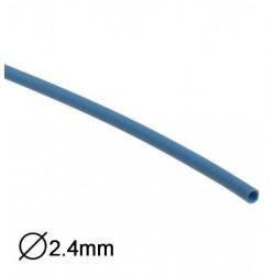 Manga Termoretractil 1m 2:1 Ø2.4-1.2mm Azul
