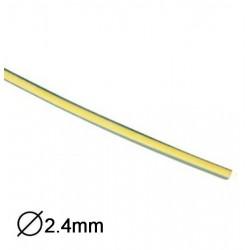Manga Termoretractil 1m 2:1 Ø2.4-1.2mm Amarela/Verde