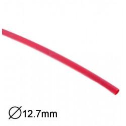 Manga Termoretractil 1m 2:1 Ø12.7»6.35mm Vermelha
