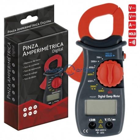 Pinça Amperimétrica Digital Ac/Dc 600v