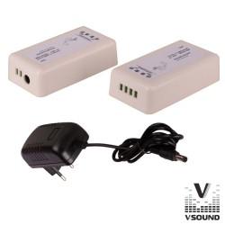 Amplificador Compacto 30W Bluetooth - VSOUND