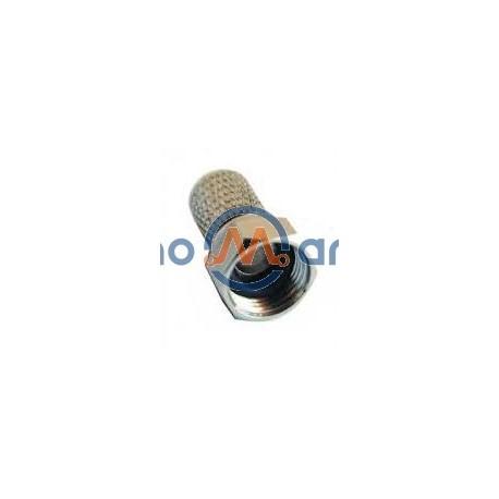 Ficha F Macho P Cabo Ø 7/5mm C/ O'Ring Incluído