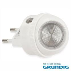 Luz De Presença 1 Led Branco 0.4w Rotação 360º 230v - Grundig