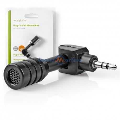 Microfone Mini C/ Ficha Jack 3.5mm
