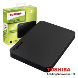 "Disco Externo HDD CANVIO BASICS 2TB 2.5"" USB3.0 - Toshiba"