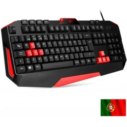 Teclado Gaming PRO-K3 Preto (Layout PT) - SPIRIT OF GAMER