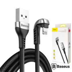 Cabo USB-A 2.0 Macho / Lightning 8P Gaming 1M Preto - Baseus