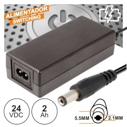 Alimentador Switching 24V 2A